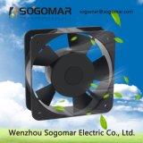 6空気冷却のためのインチ150X150X50mmのボールベアリングの壁のファン