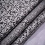 花デザイン白黒カーテンの卸売280cm