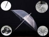 De Populaire Opvlammende Schacht Arylic die van kinderen Duidelijke Transparante LEIDENE Paraplu adverteert
