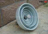 Aisladores de suspensión estándar de la porcelana del IEC para la transmisión de potencia