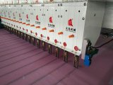 Dadaoのコンピュータの二重ローラーが付いている水平のキルトにする刺繍機械