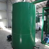 Mini equipo de destilación del aceite usado aceite de motor a la máquina de reciclaje de aceite de base amarilla
