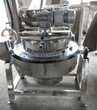 鍋スープやかんを調理するやかんのガスのJacketed調理のやかんを傾けること