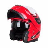&#160 ; Moto rouge Helmet&#160 de Bluetooth d'ABS de bonne qualité ;