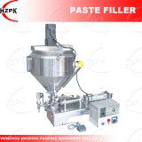 Pasta de cabezal simple máquina de llenado de relleno de pasta con una mezcla de China