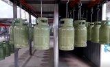 Grande quantidade de exportar a linha de pintura por pó do cilindro de GPL