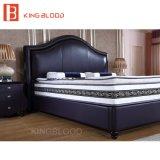 Het moderne Bed van het Leer met Koningin Size Frame voor Slaapkamer