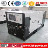 Комплект генератора одиночной фазы 20kw 20kVA Perkins звукоизоляционный тепловозный