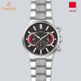 Vigilanza speciale 72565 di sport di disegno dell'acciaio inossidabile del cronografo degli uomini