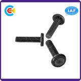DIN и ANSI/BS/JIS Carbon-Steel/Stainless-Steel рукой поверните плоской круглой три винта для сварки здание