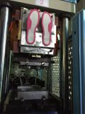 2 machine de fabrication unique de chaussure de la station PVC/TPR