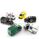 Diverse Grappige Plastic Uitdrukkelijke Auto van het Stuk speelgoed