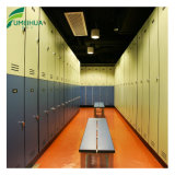 Cabina del armario de la melamina de la dimensión de una variable de Z usada en centro del club de aptitud