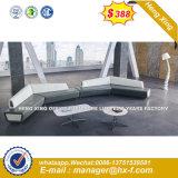 3+2+1 Sala Escura Moder sofá de couro (HX-S368)