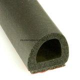 Черный EPDM губкой D форму резиновое уплотнение