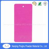 Alto rivestimento della polvere di spruzzatura elettrostatica di colore rosa di lucentezza di vendita calda