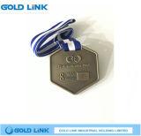 記念品メダル昇進の習慣連続したメダル金属のクラフト