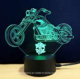 Lampe Couleur-Changeante de l'atmosphère forme créatrice du modèle 3D de diverse avec le chargeur d'USB