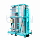 Aluminiumlegierung-Luftarbeit-Plattform 6 m-(doppelte Maste)