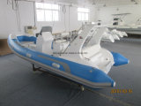 Liya 5,2 m en fibre de verre gonflable Bateau Bateau de pêche sportive