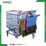 Faltbarer Polyester-Einkaufen-Laufkatze-Großhandelsbeutel