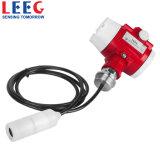 Transmisor analogico sumergible del nivel líquido 4-20mA para la agua de mar de las aguas residuales