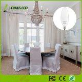 Ahorro de energía 3W E14 5W Bombilla de luz de velas LED Lámpara