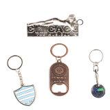 Metallo su ordine Keychain, anello portachiavi del metallo, catena chiave su ordinazione dei servi