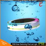 Changement de couleur RVB lumière solaire LED Swimiming piscine solaire flottant Lampe de nuit de l'étang