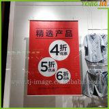 Tessuto di stampa di Digitahi che fa pubblicità alle bandiere d'attaccatura di abitudine per la mostra