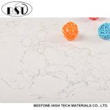 камень кварца белизны 2cm проектированный цветом для Kichentop и верхней части тщеты