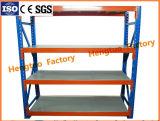 倉庫のためにを使用して棚に置く角度の鋼鉄ラッキングの軽量商品