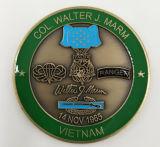 Изготовленный на заказ металл/Antique/сувенир/золото/воинские/серебряные полиции бросают вызов монетка с логосом никакой минимум