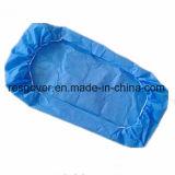 Pp.-nichtgewebter Bett-Wegwerfdeckel mit Gummiband herum