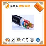 Cable de transmisión acorazado de XLPE del aislante del PVC de la cinta de acero de alto voltaje de la envoltura