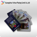 Publicidad del fabricante de las tarjetas que juegan para el cliente