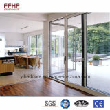 Restaurant Aluminum Profiles Sliding Door Entrance Doors