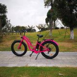 Graisse de 500W 26pouces pneu vélo électrique pour la femme