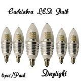 Lampadina LED delle lampadine dei lampadari di luce del giorno del lampadario a bracci basso di Repaces 60W, 650lm, punta libera del richiamo per i lampadari a bracci, ripari della parete, indicatori luminosi del portico & lanterne