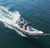 Barcos infláveis China do reforço de Liya 17FT Rhib Hypalon