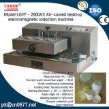 Máquina de indução eletromagnética Desktop refrigerada a ar para o frasco de vidro (LGYF - 2000AX)