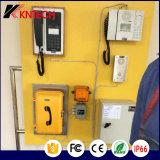 Телефон туннеля VoIP Телефон Knsp-16 LCD Водонепроницаемый промышленный прочный телефон