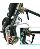휠체어를 위한 Powerchairs 쉬운 가공 초로 유연한 전자 휠체어 전기 Handcycle