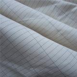 Silberne leitende Faser, die das Blatt-Gewebe erdet