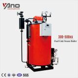 低い燃料消費料量50kg-1000kg/Hrのガスまたはディーゼル油の蒸気ボイラ