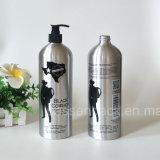 botella de aluminio impresa 1L para el empaquetado del cosmético de Skincare (PPC-AB-0108)