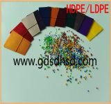 50% hohe brutto gelbe Farbe Masterbatch für Einspritzung-Plastikprodukt