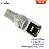 새로운 도착 최고 밝은 T15 900lm Csp 칩 Canbus LED 전구