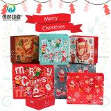 クリスマスのギフトのための方法カスタム昇進の小売りのペーパー印刷の包装袋