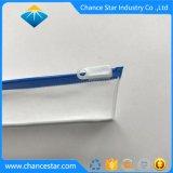 Saco de Gancho de PVC transparente personalizados com suporte e tampa deslizante